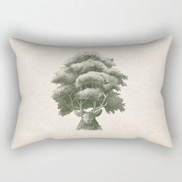 Old Growth  Rectangular Pillow