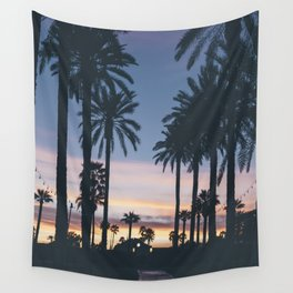 SUNRISE - SUNSET - PALM - TREES - NATURE - PHOTOGRAPHY Wall Tapestry