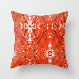 An Orange Nation Throw Pillow