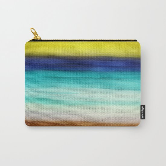 beach abstract Carry-All Pouch