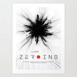 ZEROING Art Print