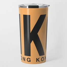 HKG Hog Kong Luggage Tag 2 Travel Mug