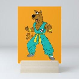 Krillin x Scooby Mini Art Print