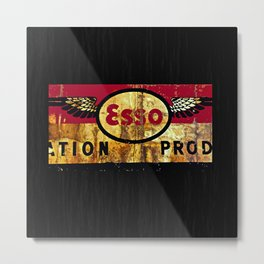 Esso  Exxon Metal Print