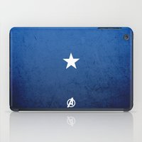captain silva iPad Cases featuring CAPTAIN by El Pigro