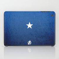 captain iPad Cases featuring CAPTAIN by El Pigro