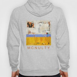 Amenity Abstract Landscape Yellow Modern Shawn McNulty Hoody
