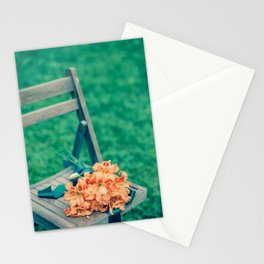 Forgotten - Orange Lilies Stationery Cards