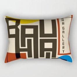 Bauhaus Poster I Rectangular Pillow
