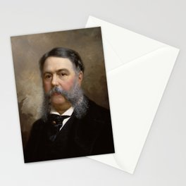 President Chester A. Arthur Painting Stationery Cards