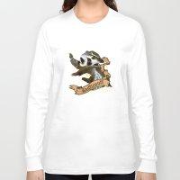 hufflepuff Long Sleeve T-shirts featuring Hufflepuff by Markusian