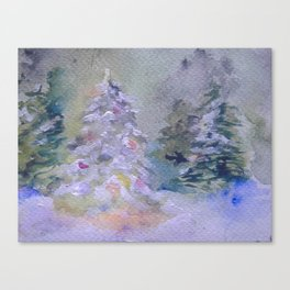 Yule Tree Canvas Print