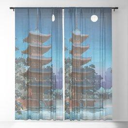 12,000pixel-500dpi - Tsuchiya Koitsu - ASAKUSA KINRYUSAN Sheer Curtain