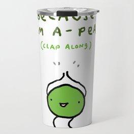 Happy Pea Travel Mug