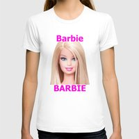 barbie T-shirts featuring Barbie by Maxvision