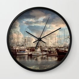 Come Sail Away Wall Clock