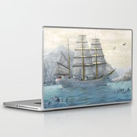 ship Laptop & iPad Skins featuring Ship by Azot