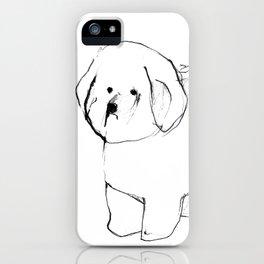 OPD Bichon Frise iPhone Case