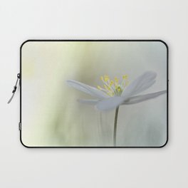 Irresistible Wood Anemone.... Laptop Sleeve