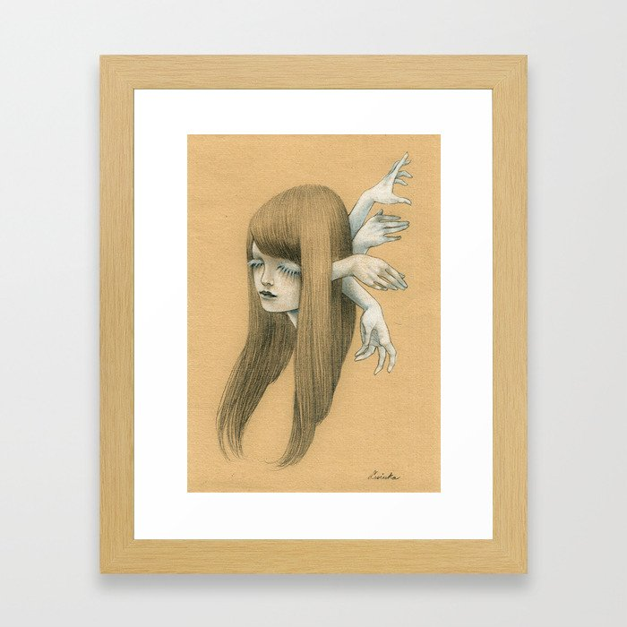 DESIRE Framed Art Print