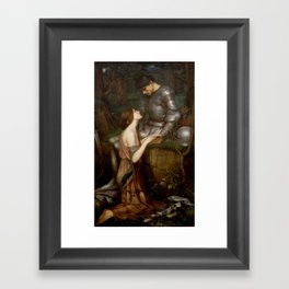 John Waterhouse - Lamia Framed Art Print