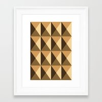 copper Framed Art Prints featuring Copper by Fernanda Fattu