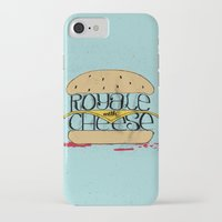 pulp fiction iPhone & iPod Cases featuring Pulp Fiction by Drew Wallace