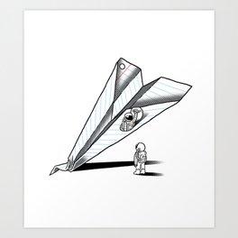 Papernauts Art Print