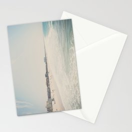 Summer dreams ... Santa Monica beach print Stationery Cards