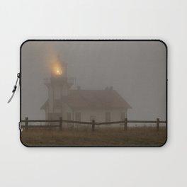 Cabrillo Lighthouse Mendocino California Laptop Sleeve