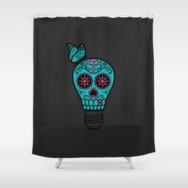 Noche de los Muertos Shower Curtain