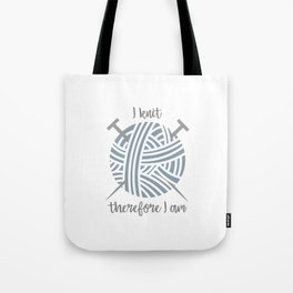 I knit Tote Bag