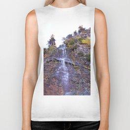 Tiny Waterfall Biker Tank