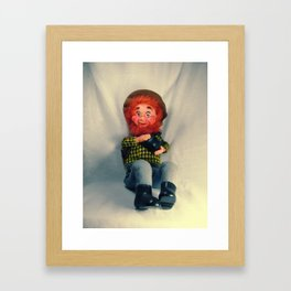 Sawdust Hillbilly Framed Art Print