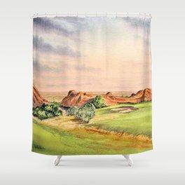 Arrowhead Golf Course Colorado Shower Curtain