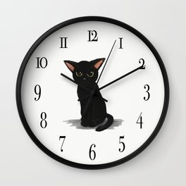 Little kitty Wall Clock