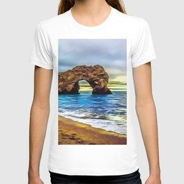 Durdle Door (Painting)  T-shirt