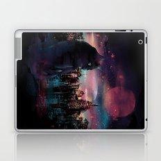Black Cat Big City Laptop & iPad Skin
