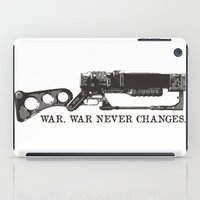 fallout iPad Cases featuring Fallout Laser Rifle  by Kazisvet