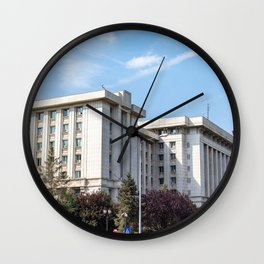Roumania, Romanian Ministry, Bucarest Wall Clock