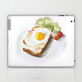 egg toast Laptop & iPad Skin