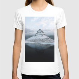 Kirkjufell Mountain in Iceland - Landscape Photography T-shirt