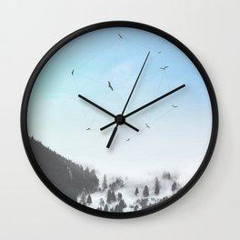 Fly Fly Away III Wall Clock