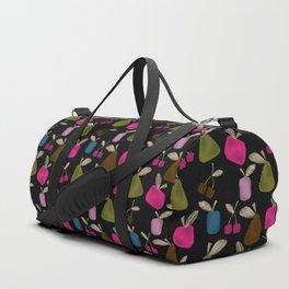 Funny cartoon multi -Frutti . Duffle Bag
