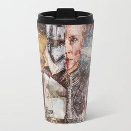 Two Faced Storm Travel Mug