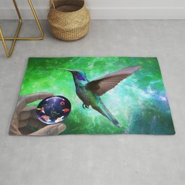 Colibri and the Pisces by GEN Z Rug