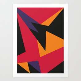 VII Raptors Art Print