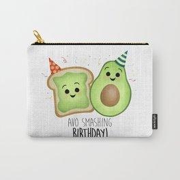Avo Smashing Birthday - Avocado Toast Carry-All Pouch