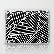Abstraction Spots Close Up Black Laptop & iPad Skin