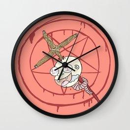 Evil Baby Wall Clock